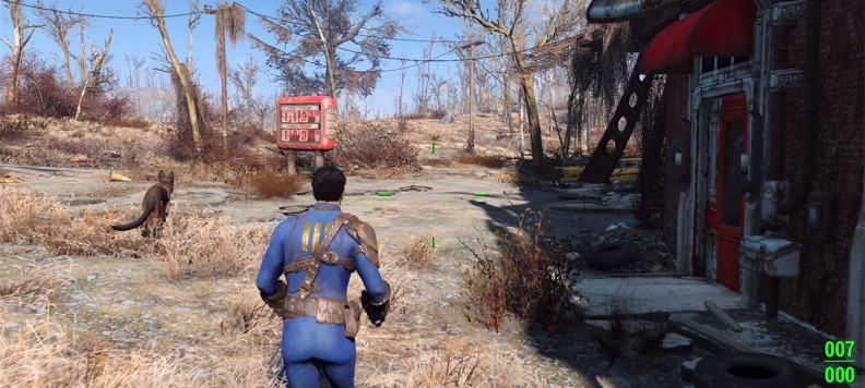 Fallout 4 gameplay EGLA