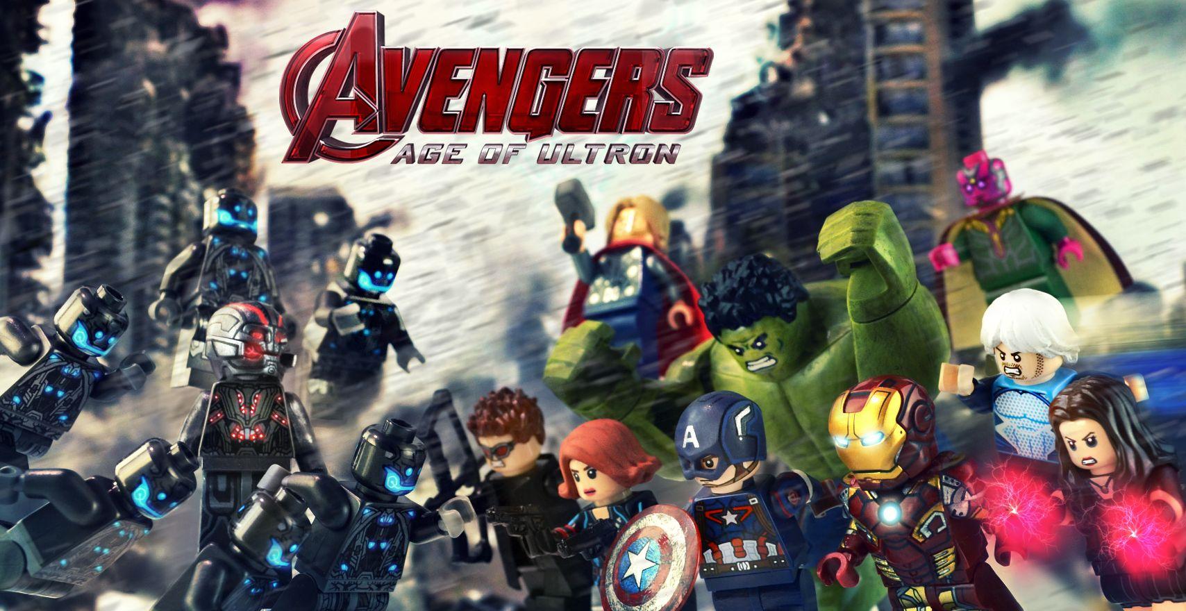 Nueva Informaci 243 N De La Comic Con Sobre Lego Marvel S