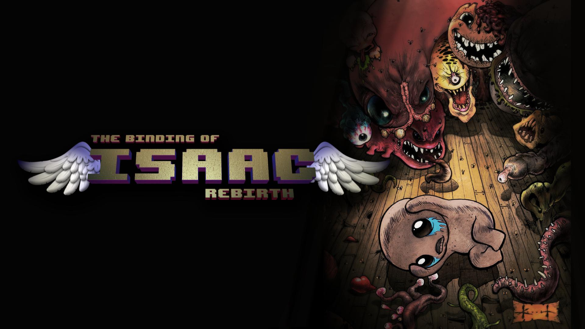 The Binding Of Isaac Rebirth Wallpaper Estadogamerla