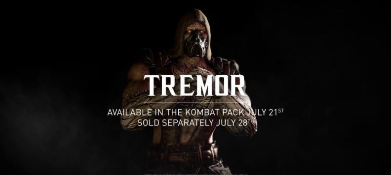 Tremor Mortal Kombat X EGLA