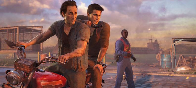 Uncharted 4 Nathan Drake Sam EGLA