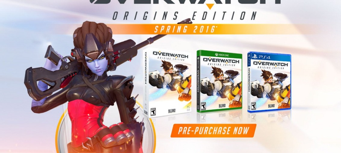 Overwatch pc xbox one ps4