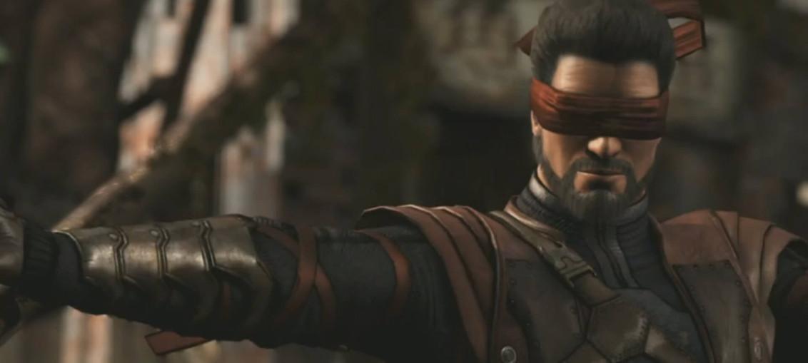 Mortal Kombat X ciego