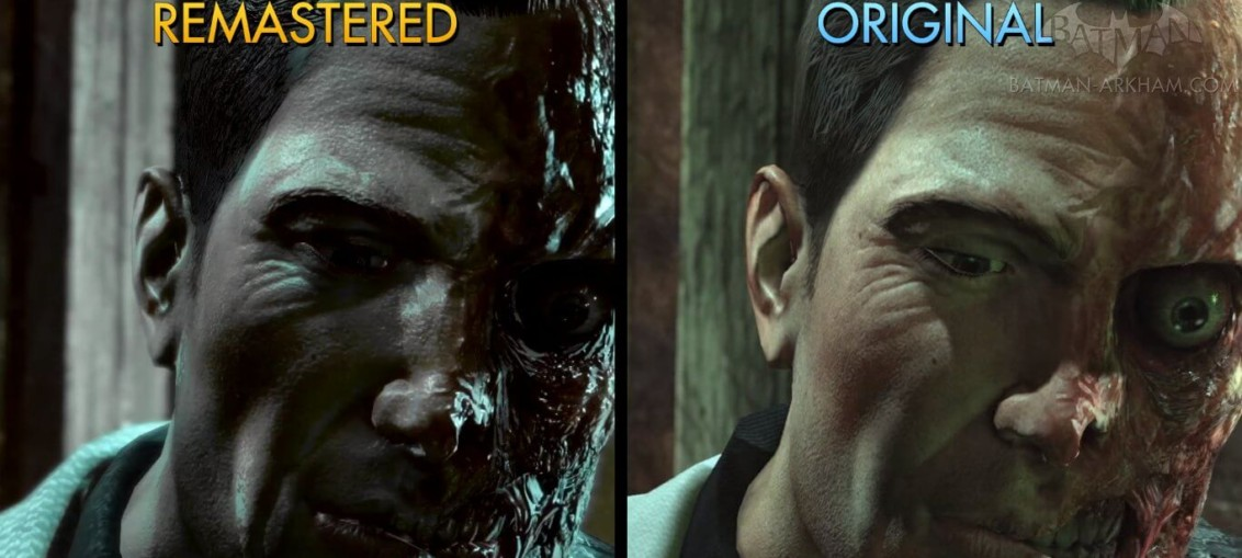 Batman Return to Arkham comparativa 2