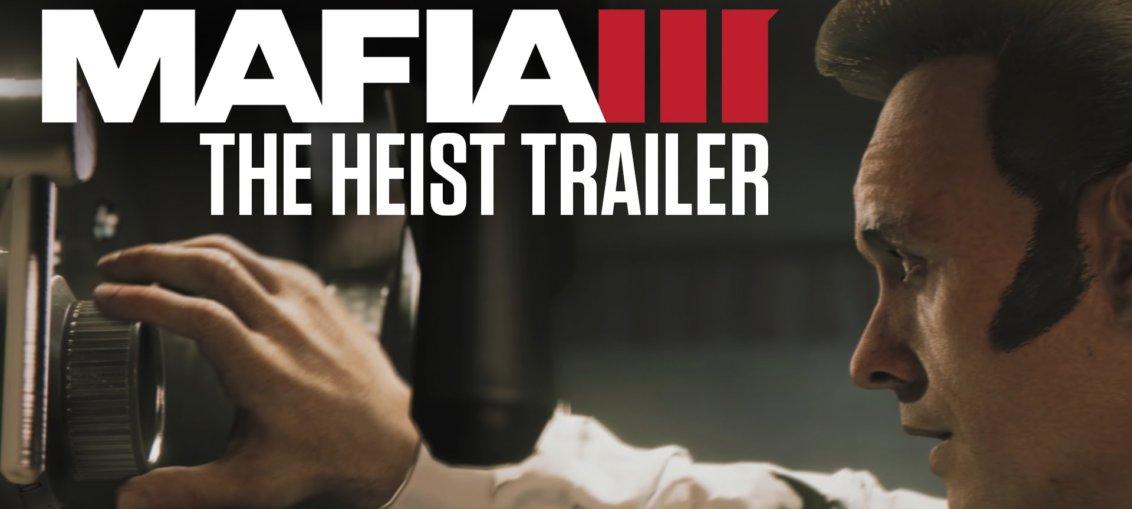 Mafia 3 heist trailer gamescom