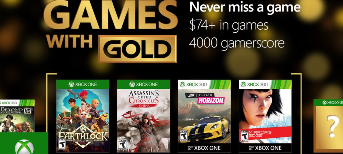 games with gold setiembre 2016