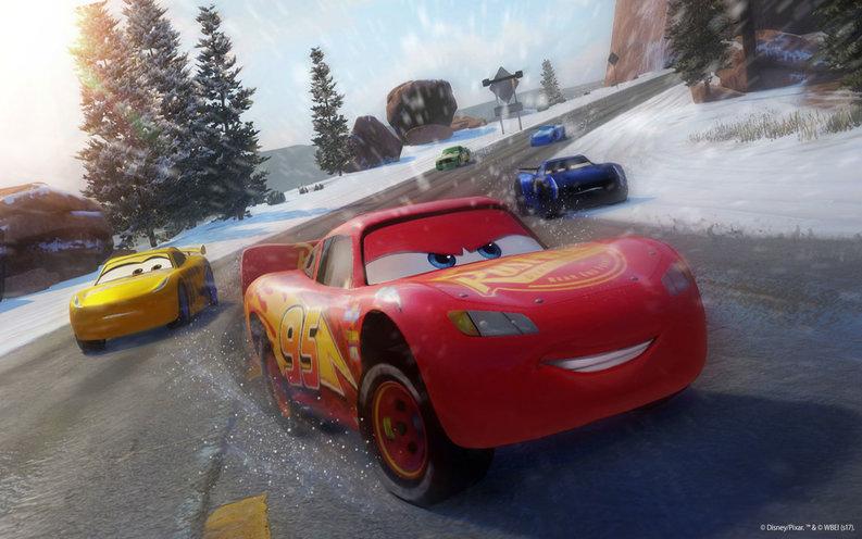 Cars 3 motivado para ganar egla