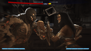 Injustice™ 2 - Pose de enfrentamiento Scarecrwo vs Wonder Woman
