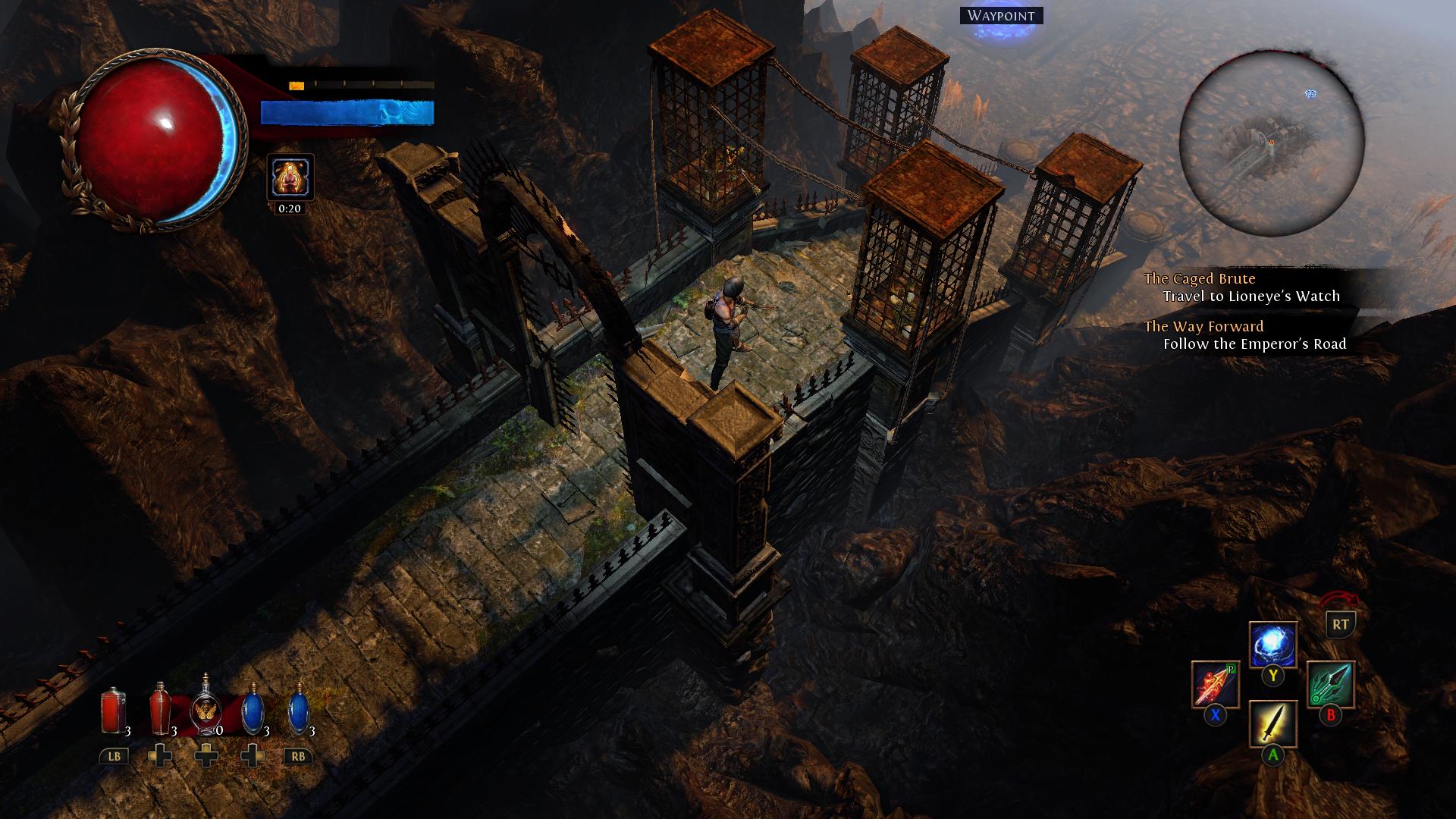 Path of Exile (Beta) - páramo del juego