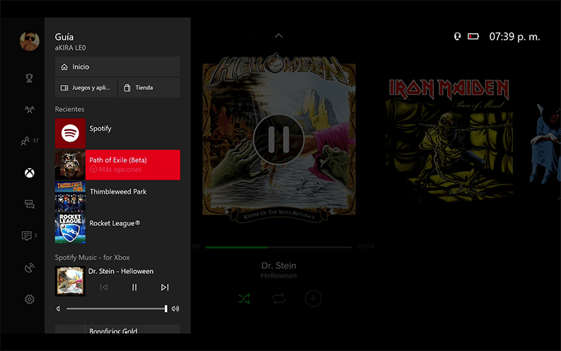 Spotify_on_Xbox egla