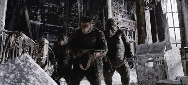 War For The Planet Of The Apes - Da Skuad
