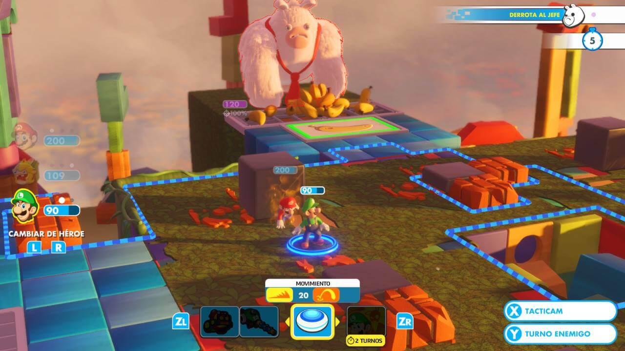 Mario Rabbids Kingdom Battle / EGLA