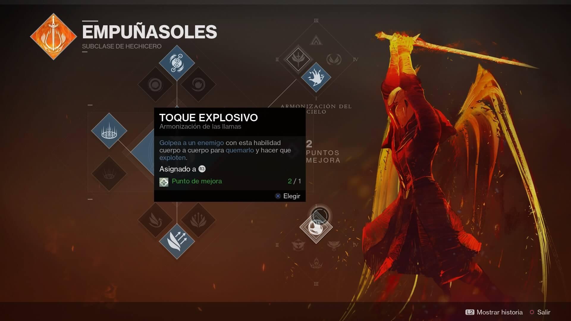 Destiny 2 - árbol de habilidades