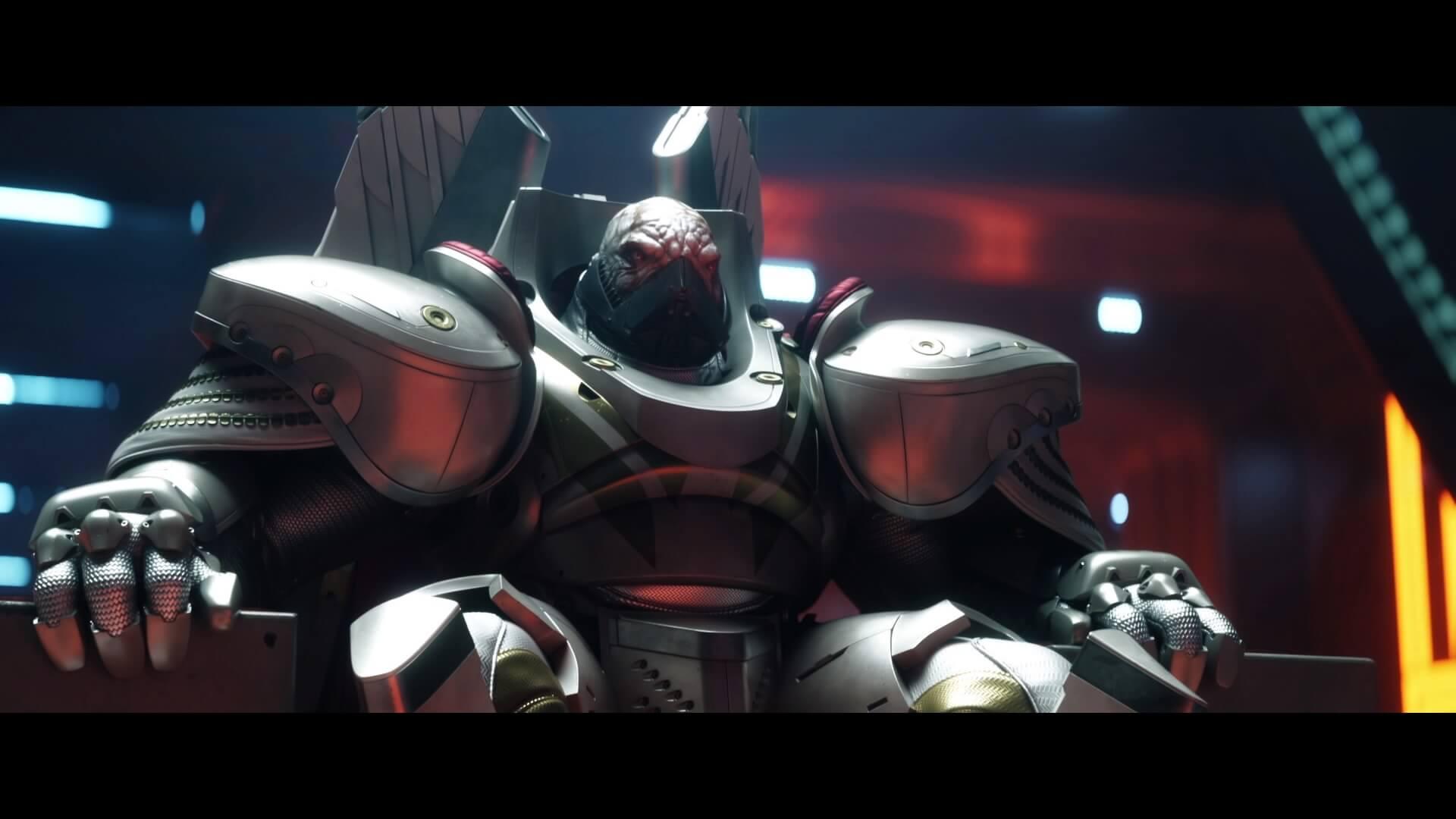 Destiny 2 - Ghaul sentado