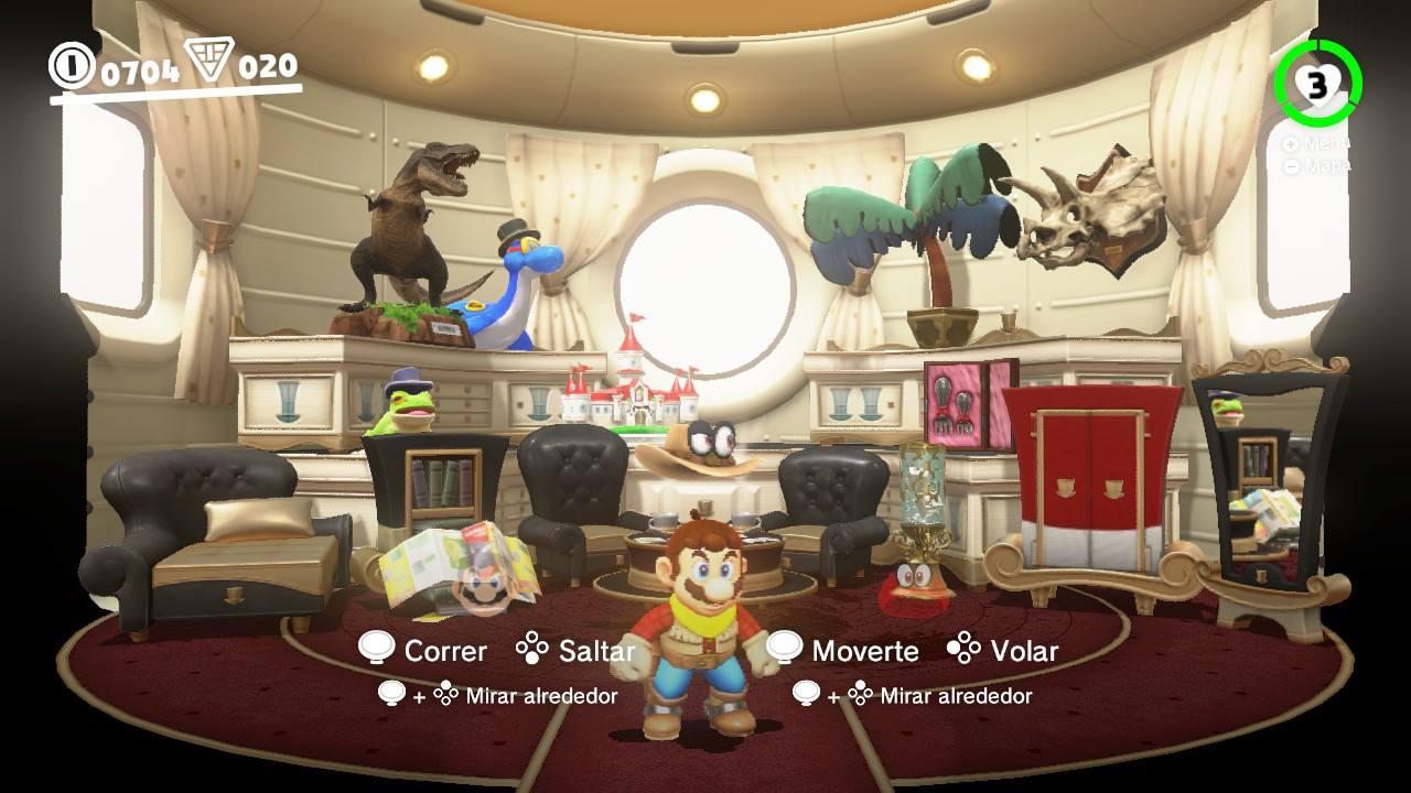 EGLA - Super Mario Odyssey Cooperativo