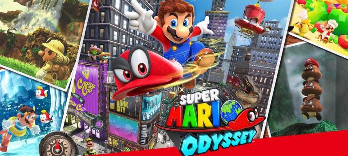 Super Mario Odyssey portada