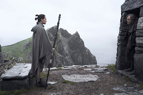 Star Wars: Los Últimos Jedi - Rey y Luke