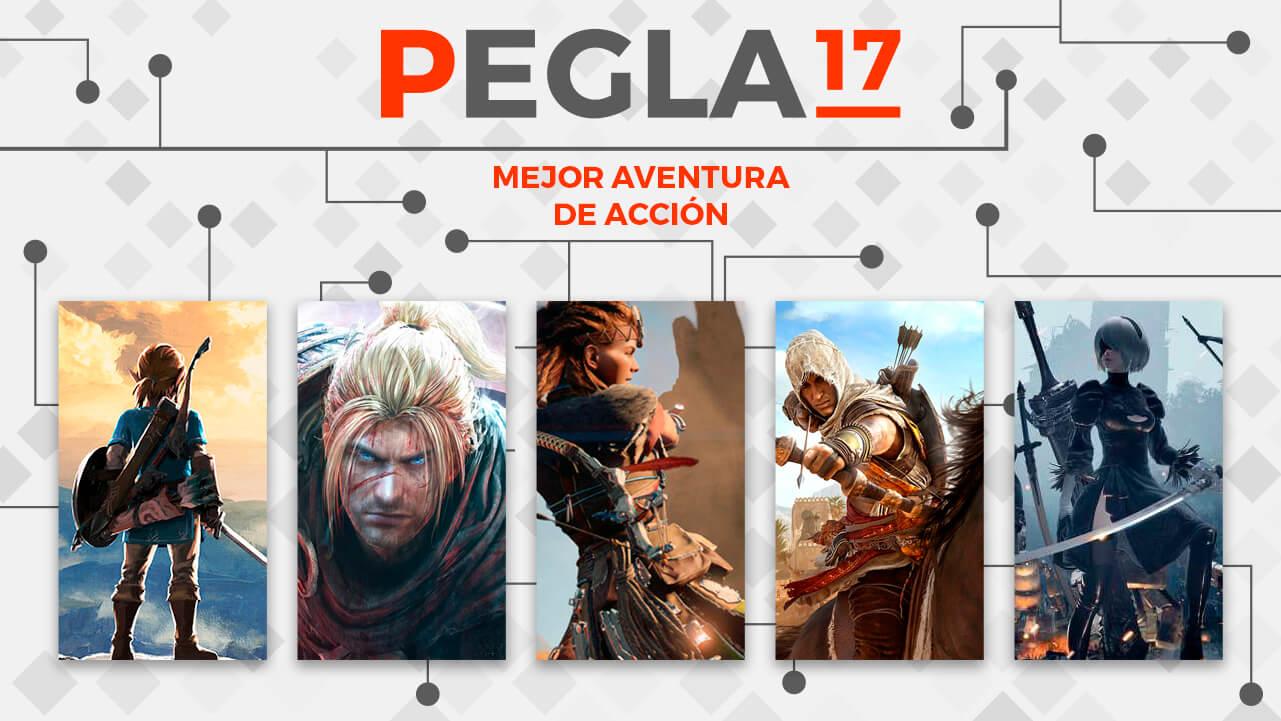 Premios EGLA 2017 Mejor Aventura de Accion