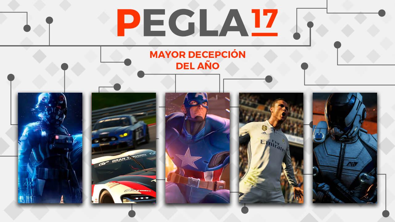 Premios EGLA 2017 Mayor Decepción del Año