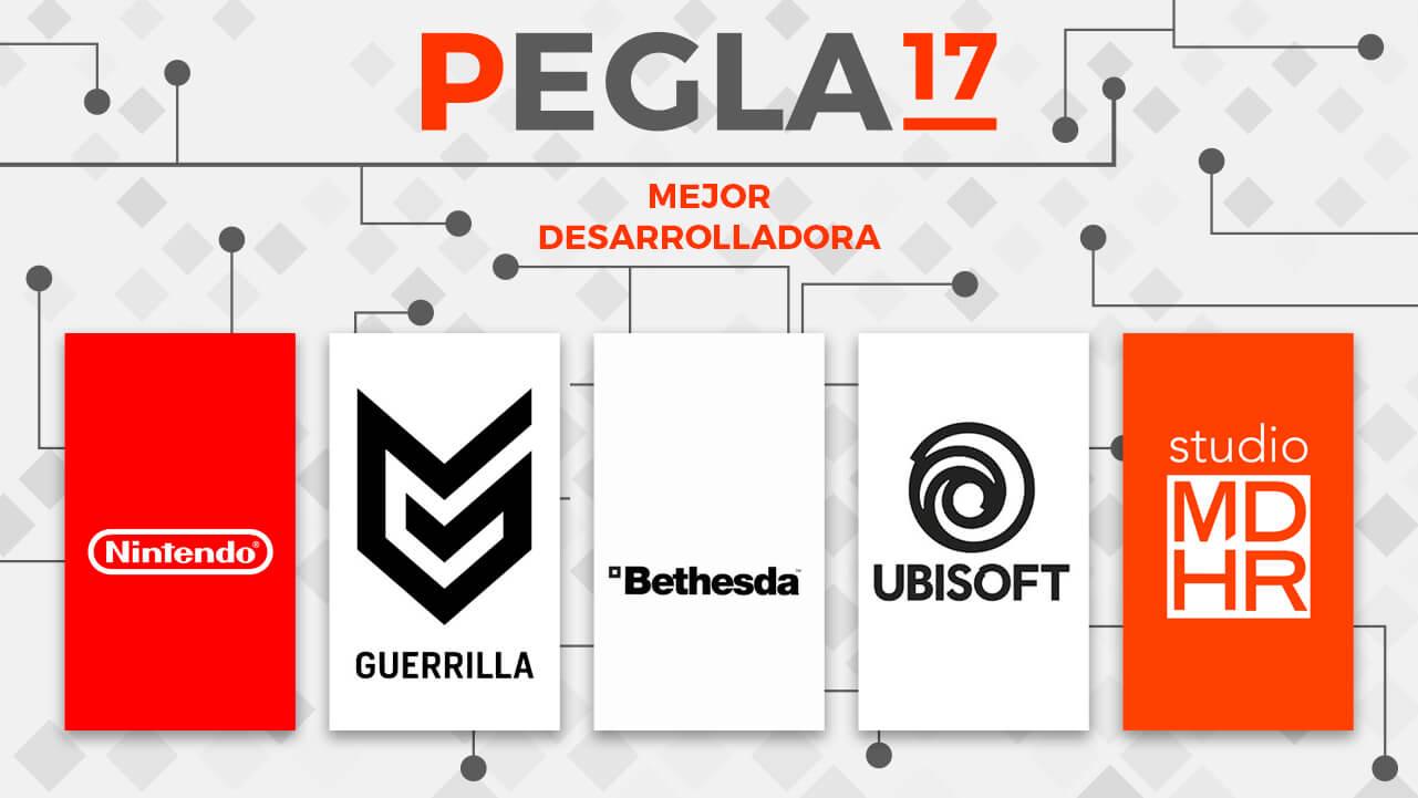 Premios EGLA 2017 Mejor Desarrolladora
