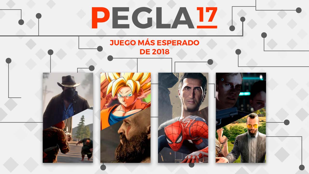Premios EGLA 2017 Juego más esperado del 2018