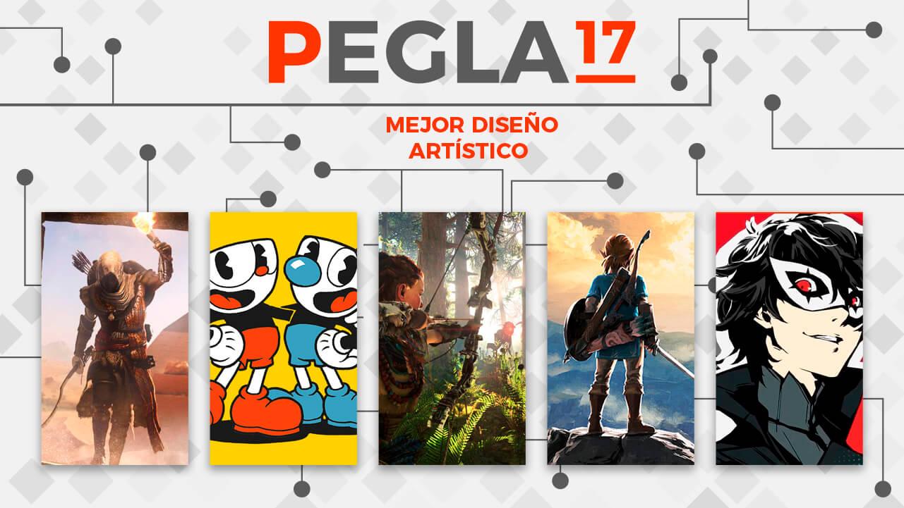 Premios EGLA 2017 Mejor Diseño Artístico