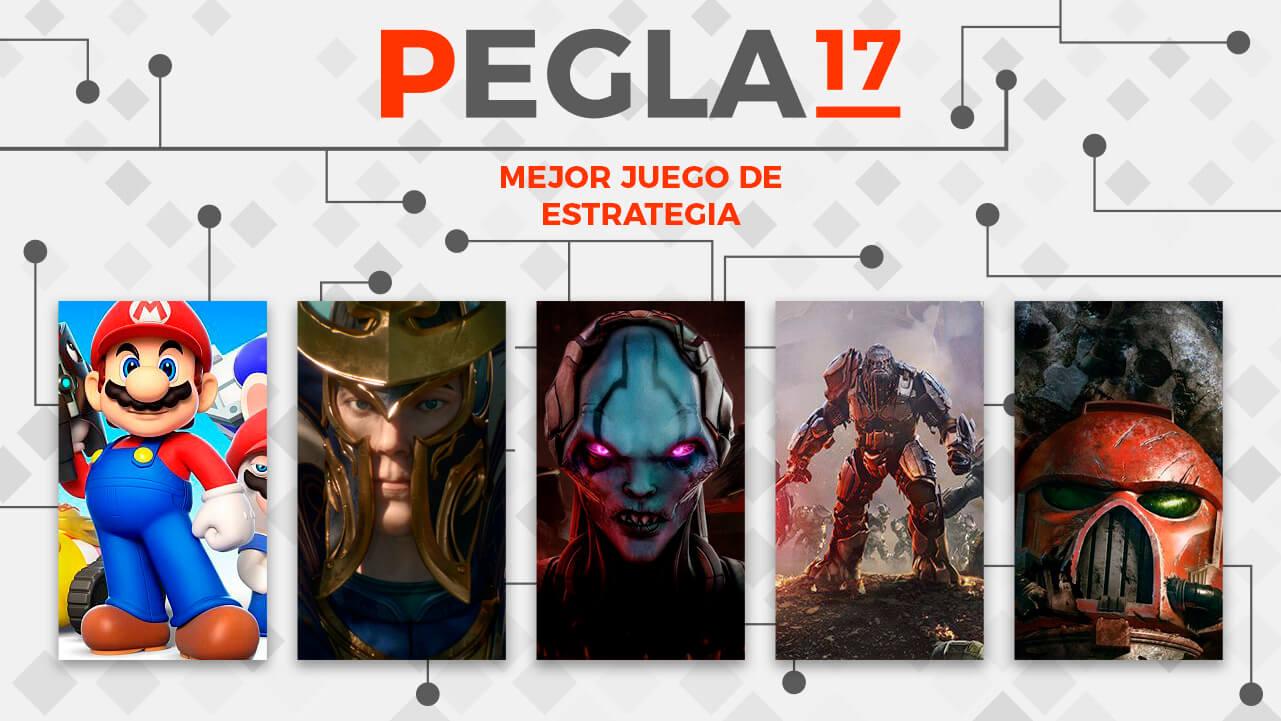 Premios EGLA 2017 Mejor Juego de Estrategia