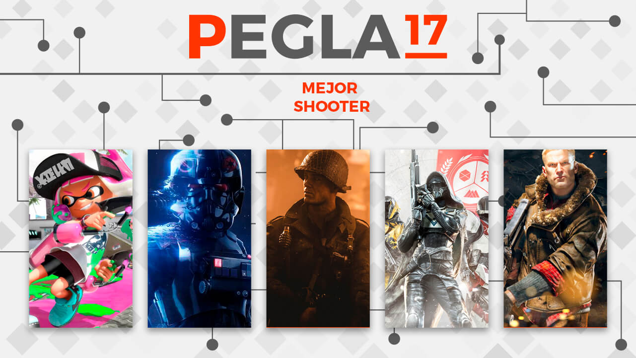 Premios EGLA 2017 Mejor Shooter