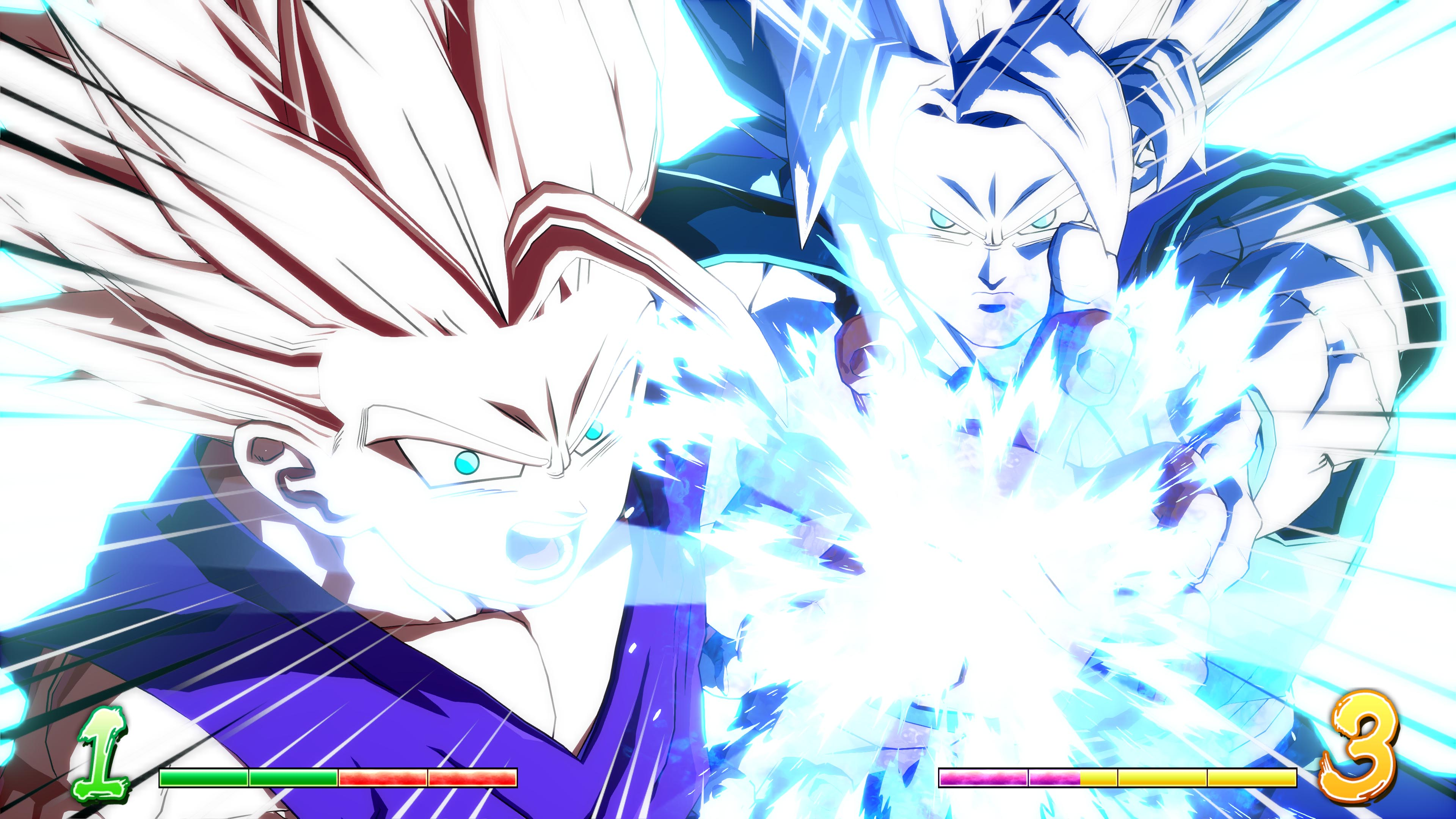 DRAGON BALL FIGHTERZ gohan adolescente super kame ha me ha