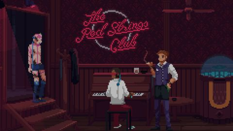 The Red Strings Club - Bar
