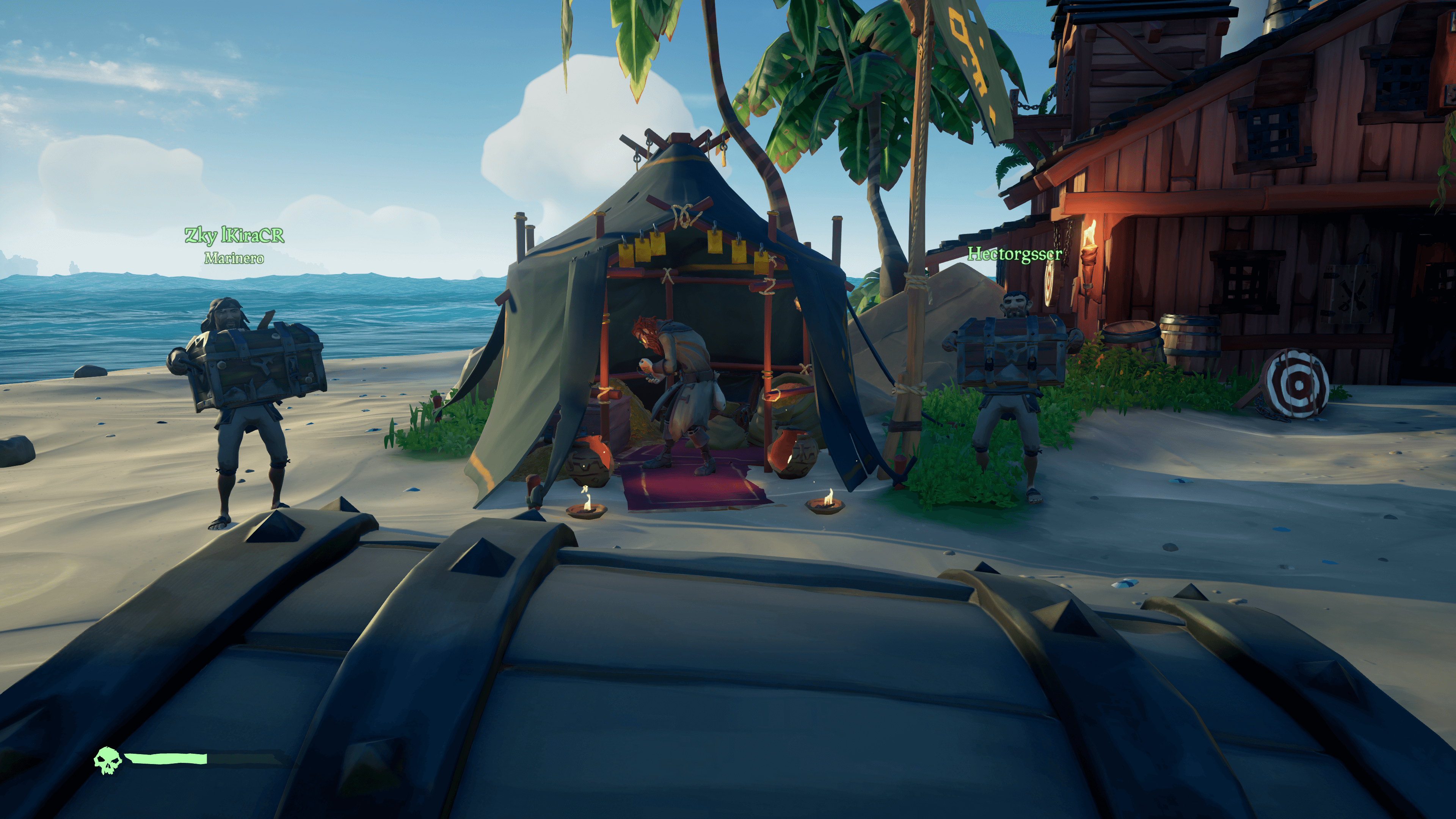 sea of thieves_reputación o personajes de gremios