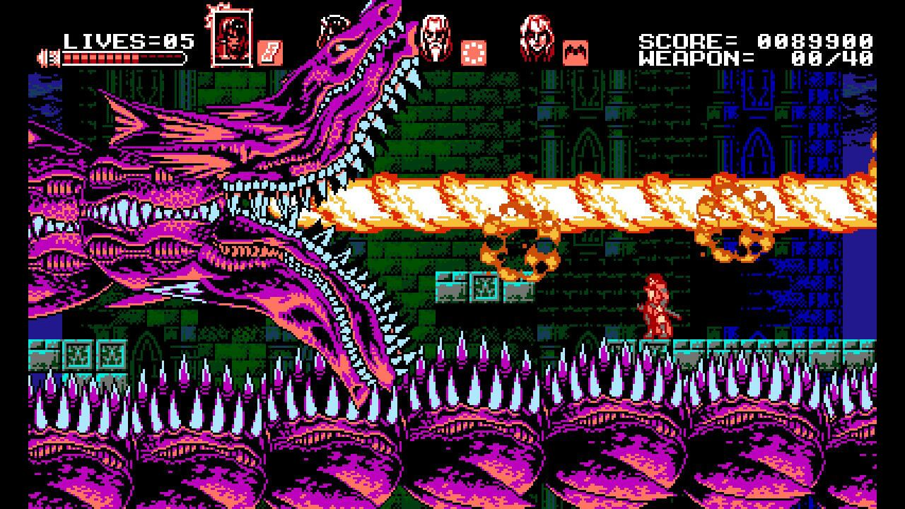 Bloodstained curse of the moon_nivel genial 2
