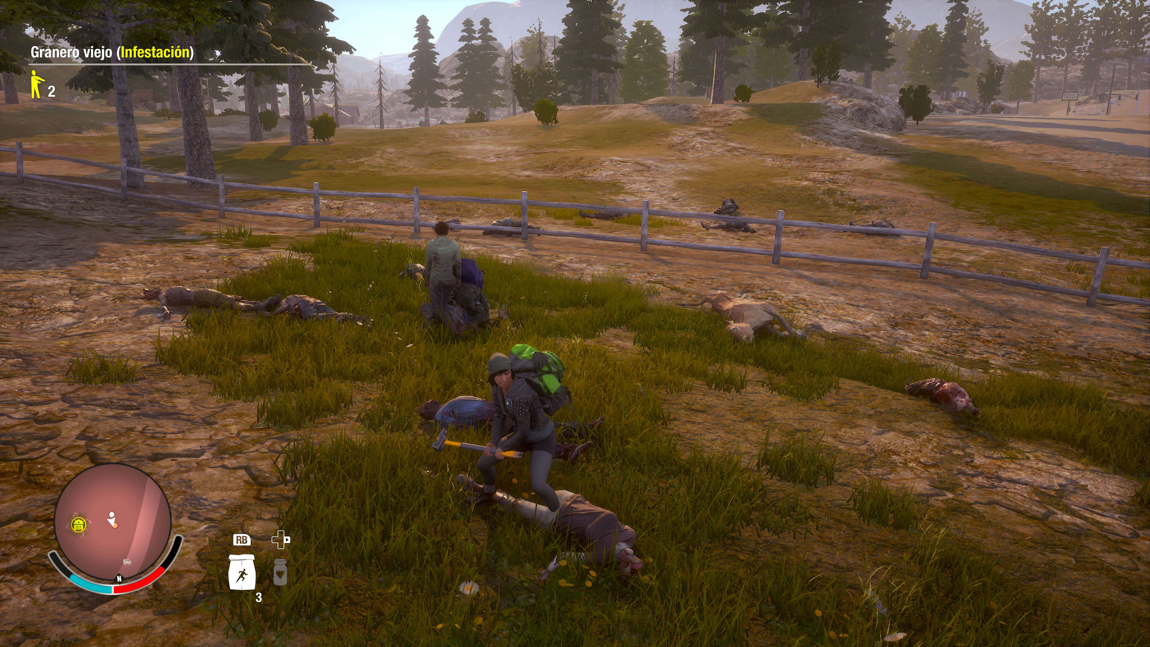 State of Decay 2_paisaje con zombies o title screen