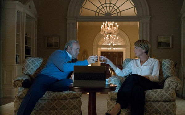 House of Cards - Frank y Claire