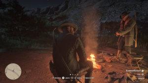 Red Dead Redemption 2_relacion con personajes o arma