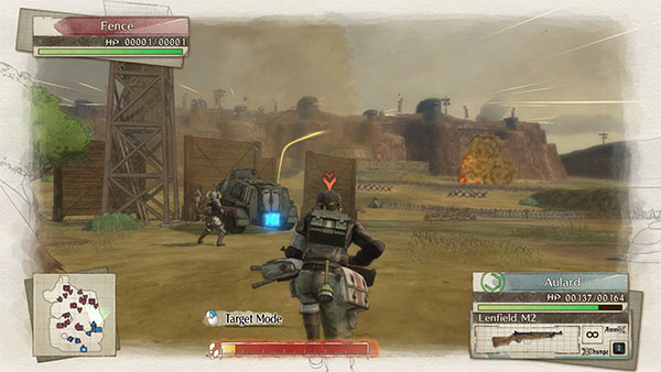Valkyria Chronicles 4 - Combate