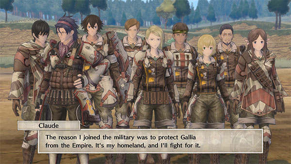 Valkyria Chronicles 4 - Team E