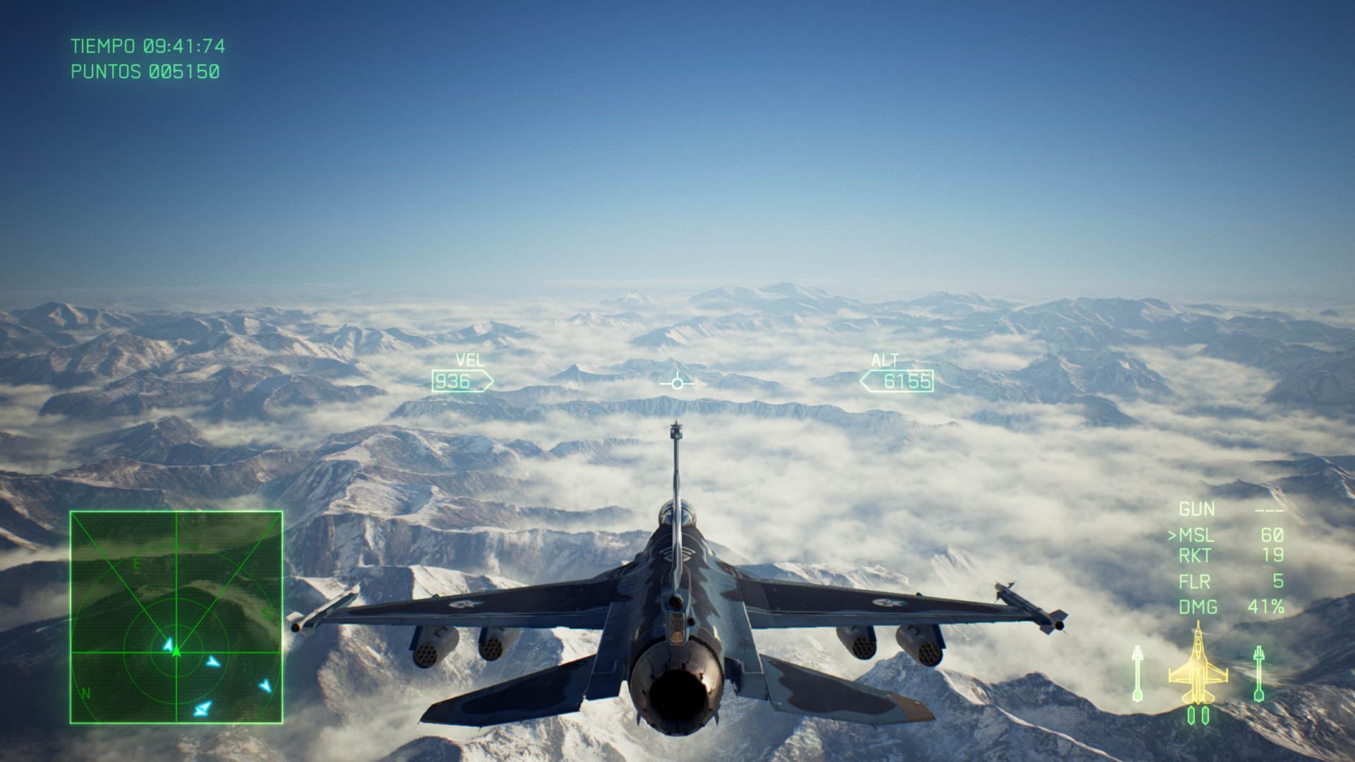 ACE COMBAT™ 7 SKIES UNKNOWN_paisajes 2