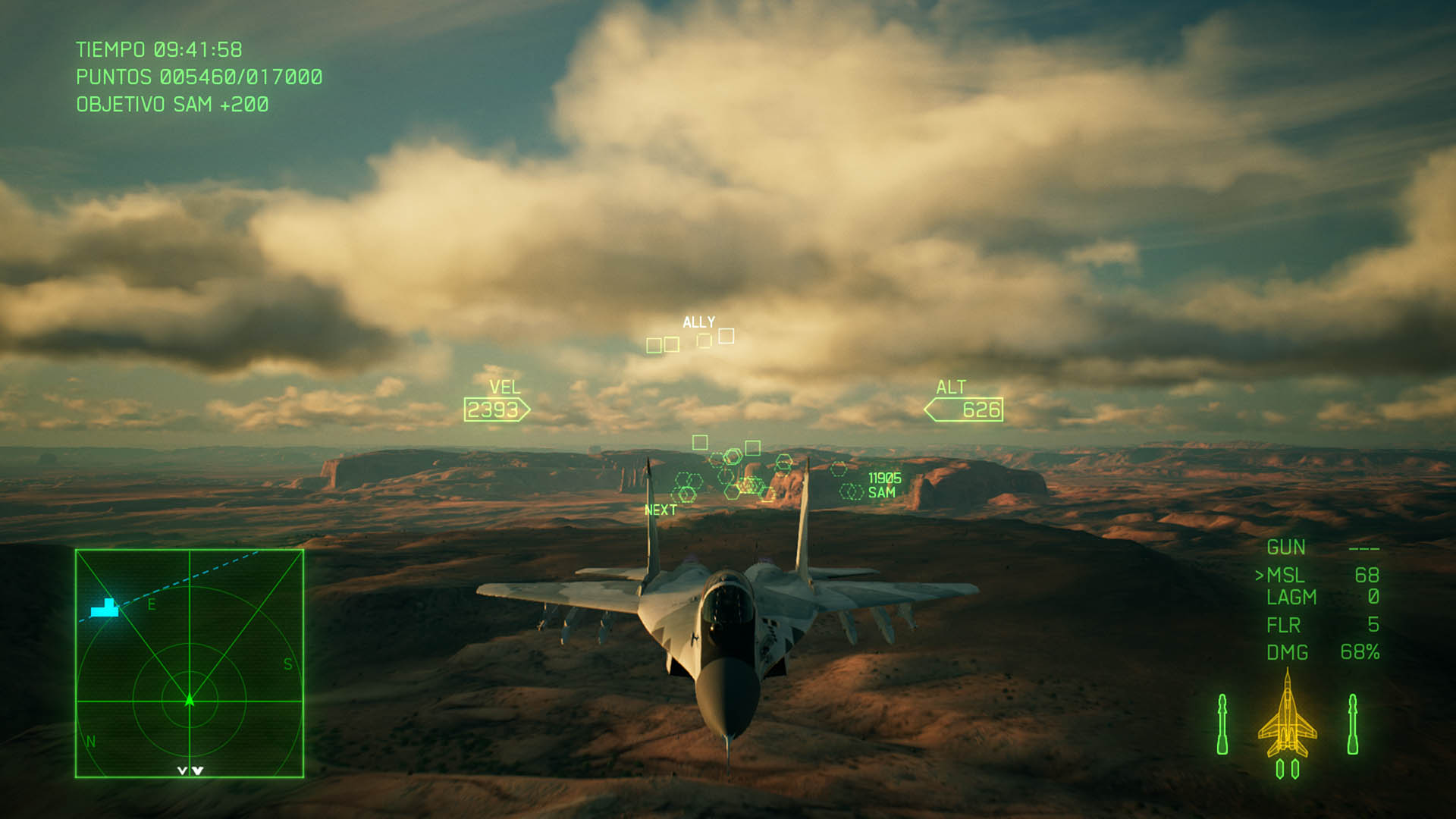 ACE COMBAT™ 7 SKIES UNKNOWN_paisajes 3