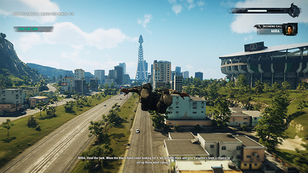Just Cause 4 - Vuelo