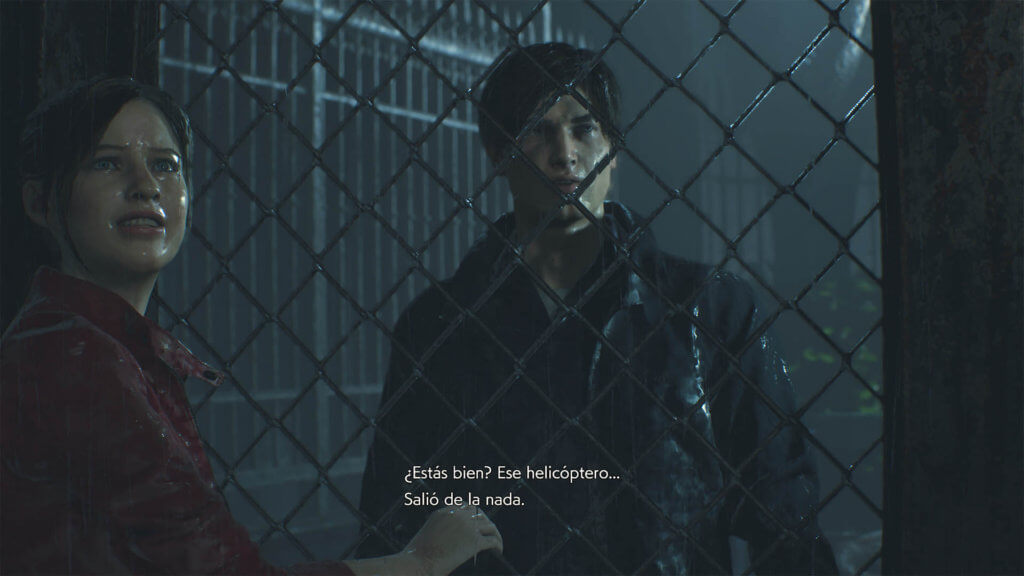 RESIDENT EVIL 2_leon y claire