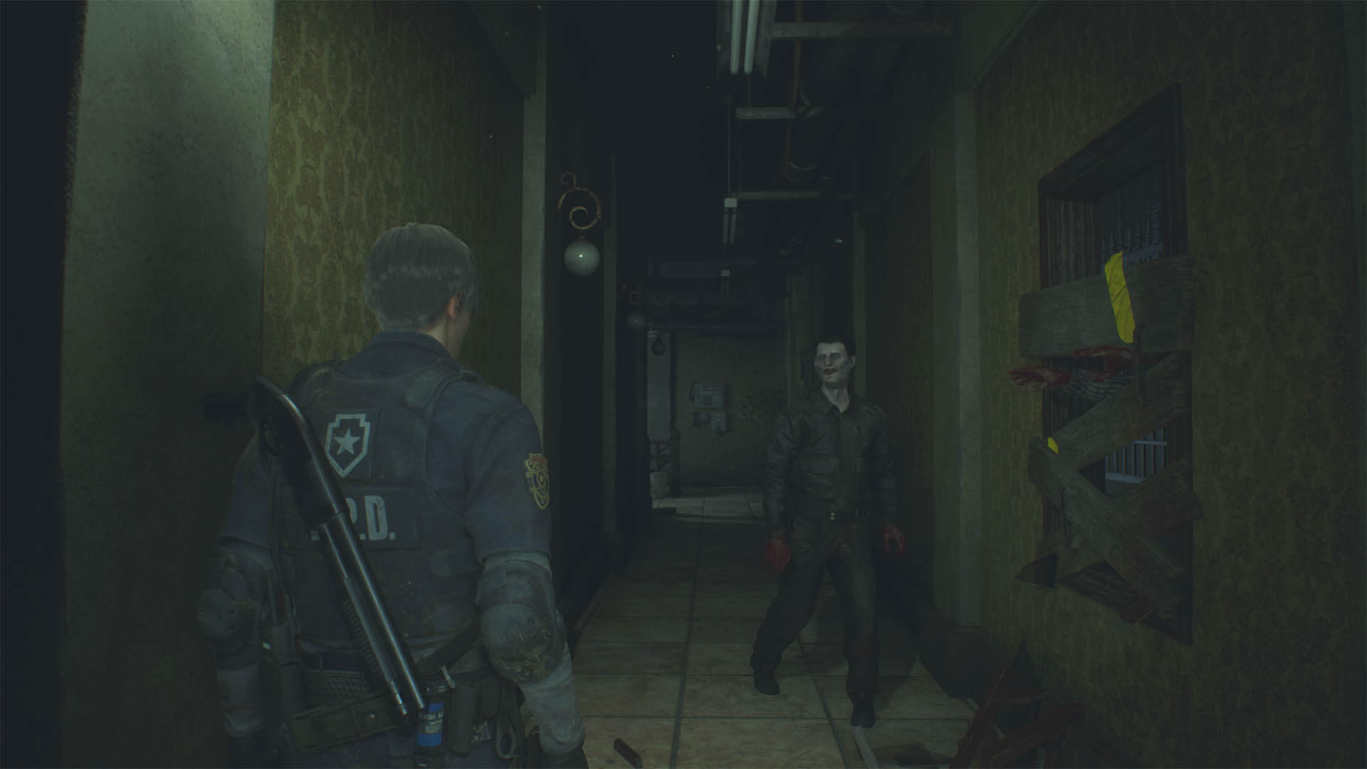 RESIDENT EVIL 2_pasadizos soliloquy 3