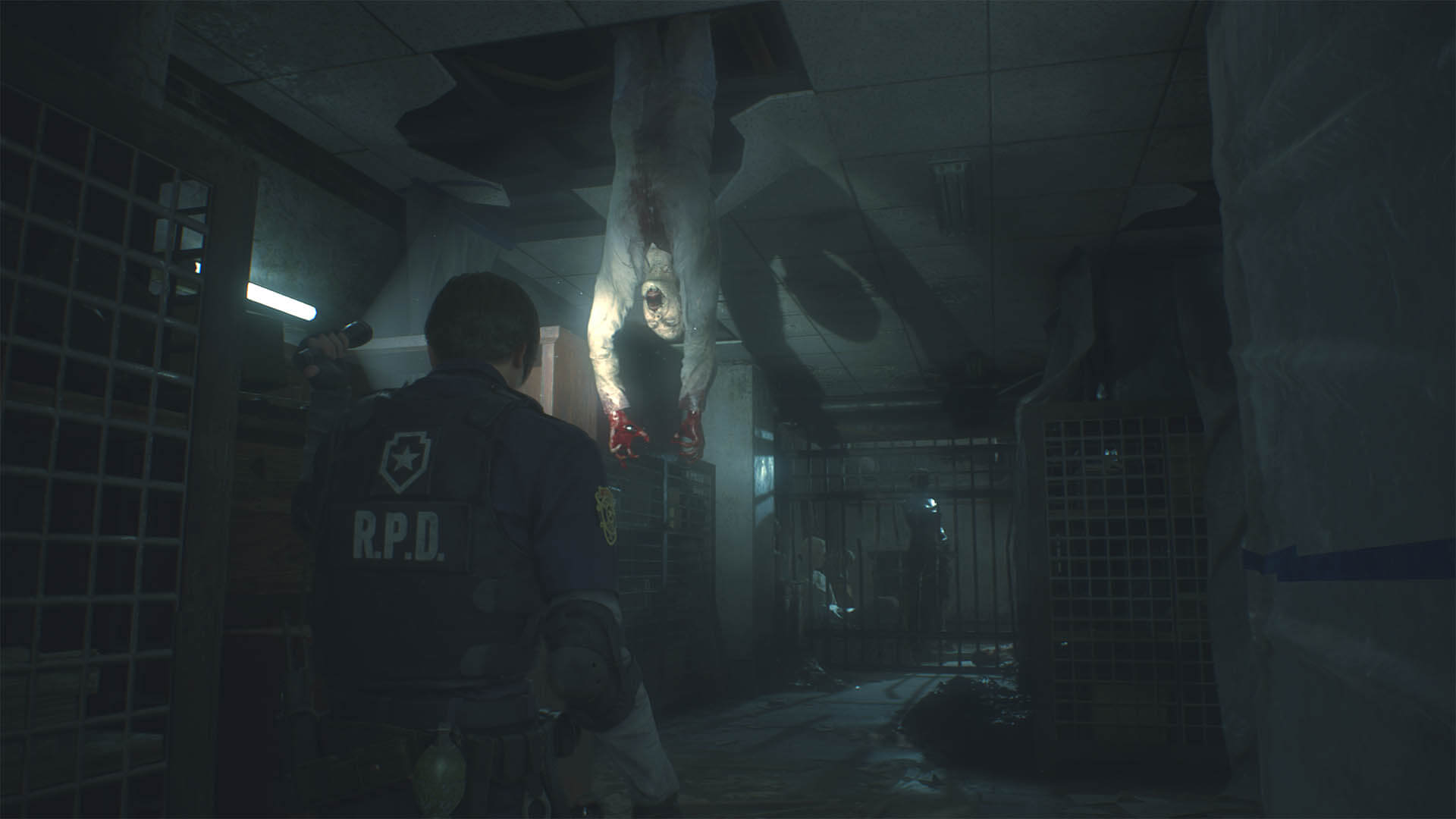 RESIDENT EVIL 2_pasadizos soliloquy 4