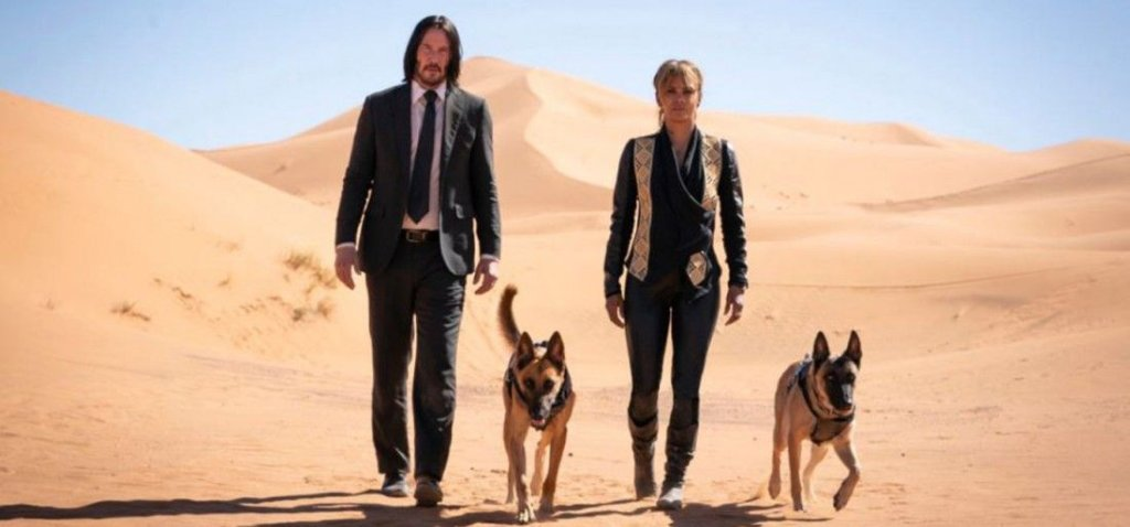 John Wick 3: Parabellum - Halle Berry and the Dogs