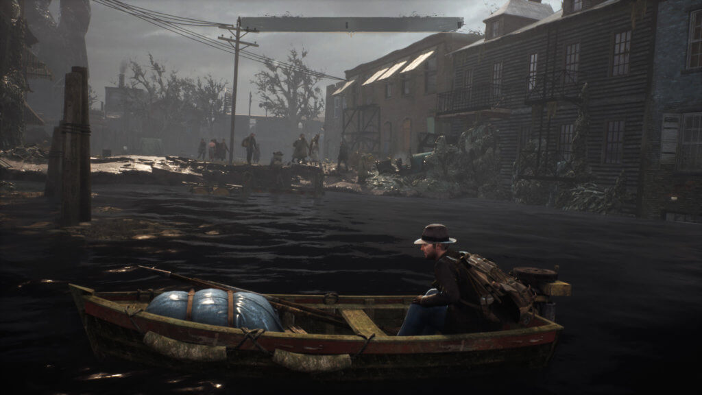 The Sinking City - Bote